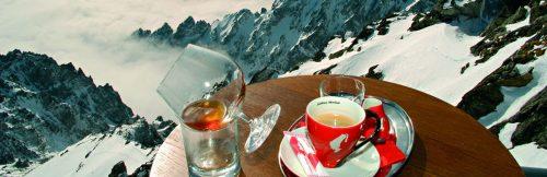 káva na Lomnickom štíte